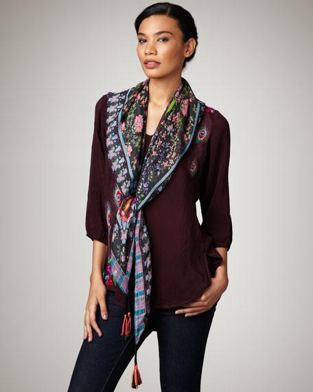Camilla Printed Silk Scarf