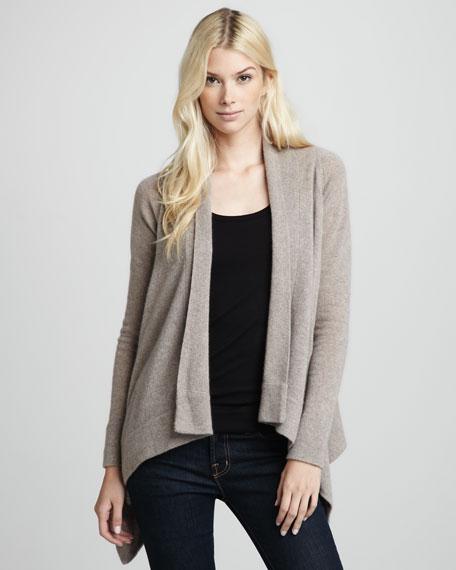 Hamptons Draped Cashmere Sweater
