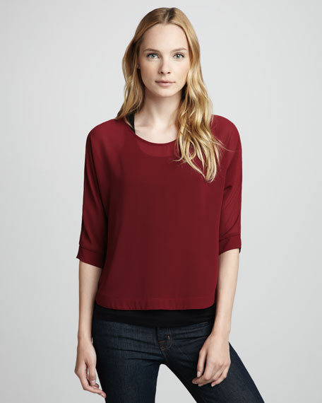 Intuition High-Back Blouse