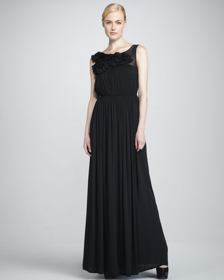 Alexandra Pleated Gown