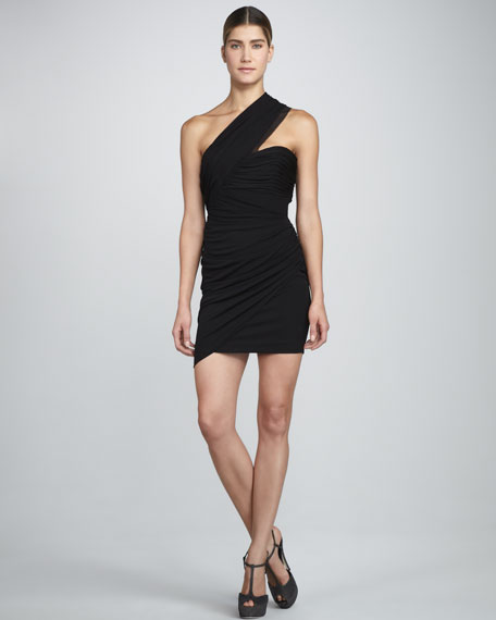 Hailey One-Shoulder Dress