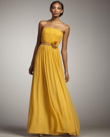 Adriana Strapless Gown