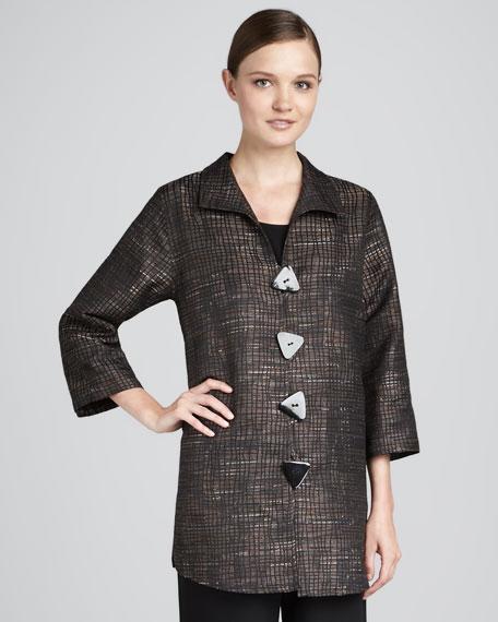 Earthy Tweed Tunic