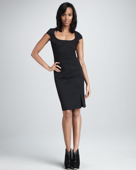 Sorel Cap-Sleeve Dress