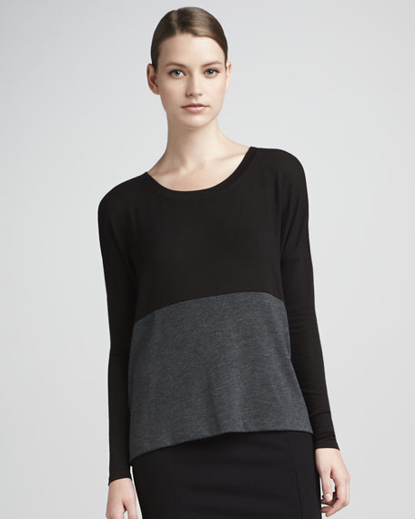 Colorblock Boxy Top