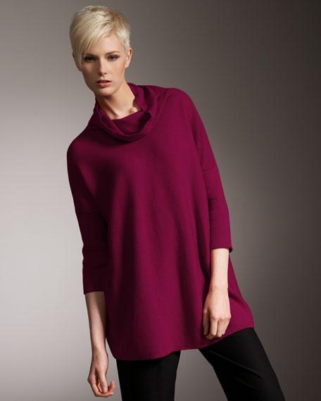 Wool Turtleneck Sweater, Petite