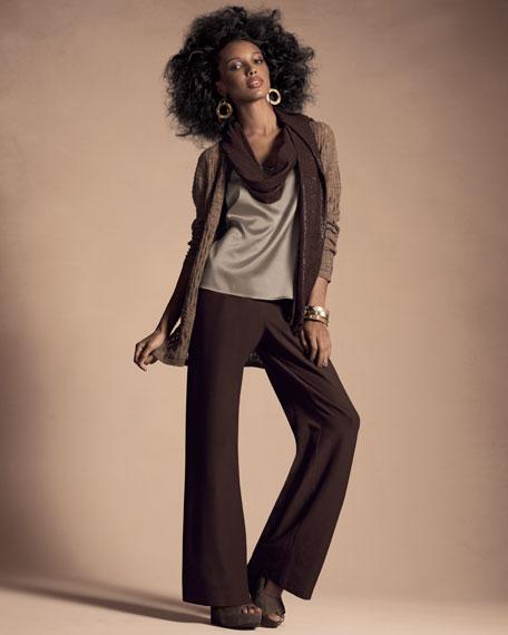 Stretch-Silk Shell, Women's
