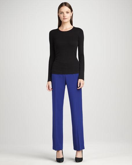Vera Flat-Front Pants