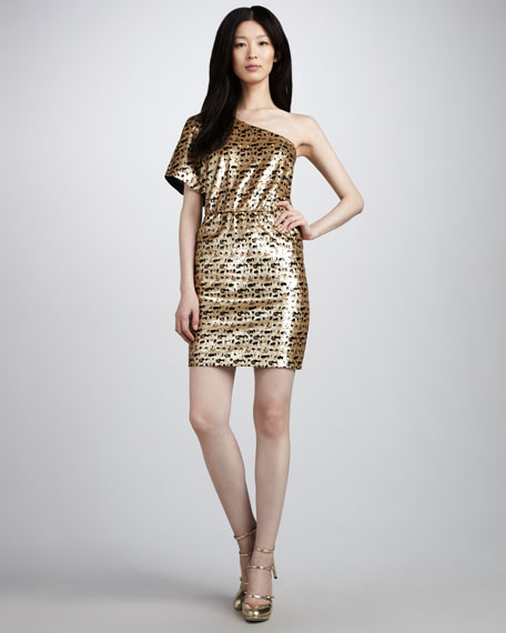 Cut A Rug Sequined Dress