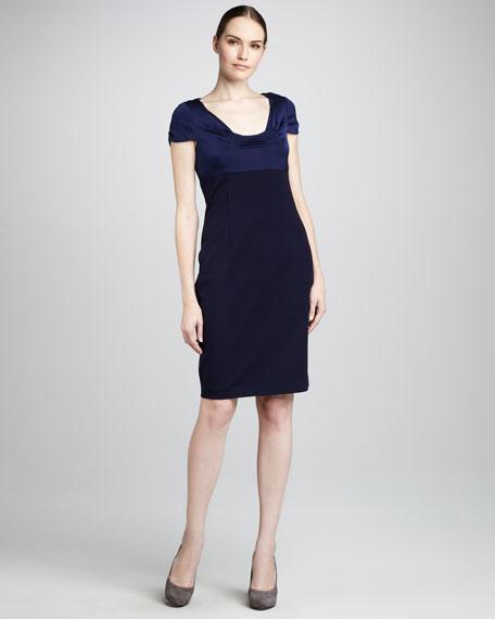 Verda Satin-Top Dress