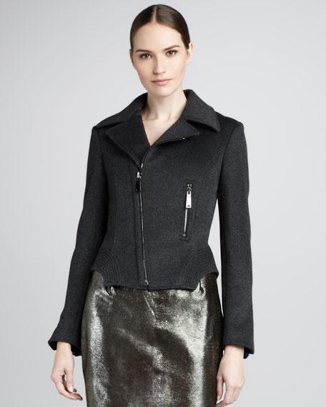 Francis Knit-Moto Jacket