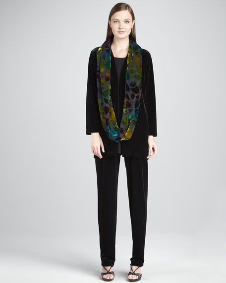 Stretch Velvet Jacket, Women's