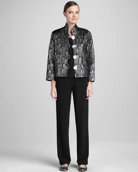 Sky Line Jacquard Jacket, Women's