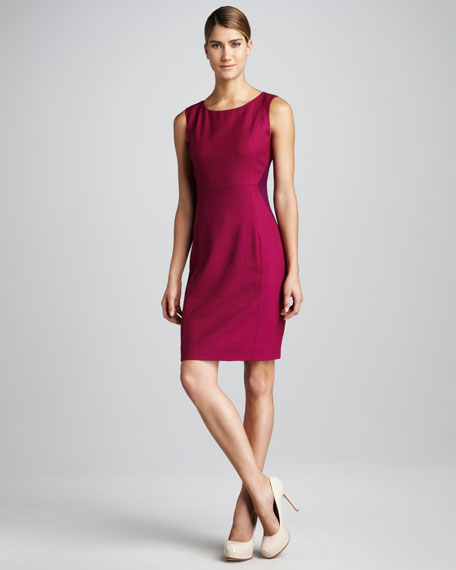 Estelle Two-Tone Dress