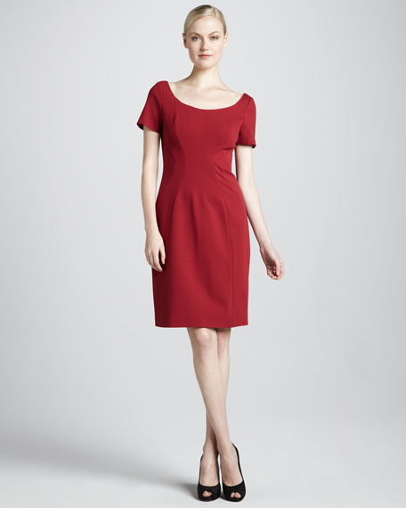Bernice Short-Sleeve Dress