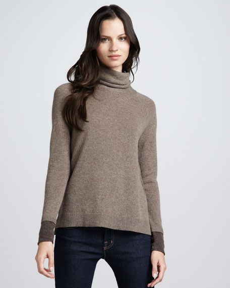 Marthe Cashmere Turtleneck Sweater
