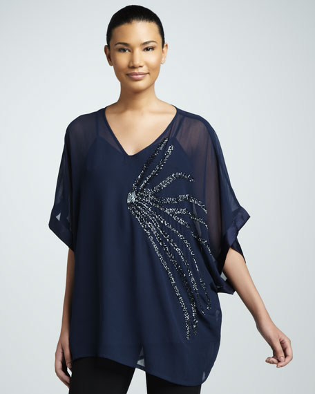 Bugle Beaded Blouse