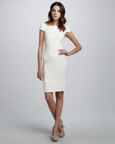 Birch Boat-Neck Dress