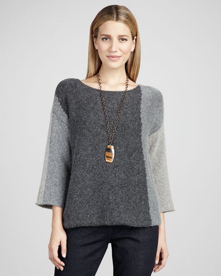 Boxy Colorblock Top, Women's