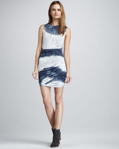 Camden Ombre-Stripe Dress