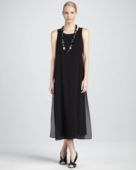 Long Double-Layer Dress