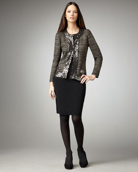 Sleeveless Jersey Dress, Women's
