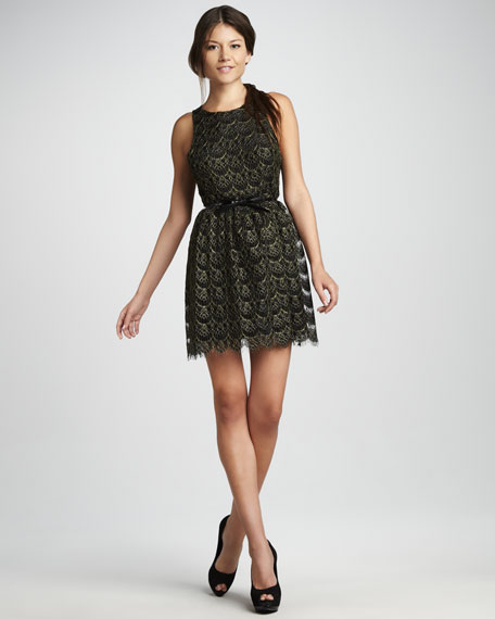 Mulligan Eyelash Lace Dress