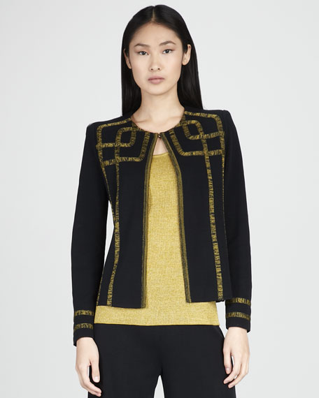 Francesca Graphic Jacket