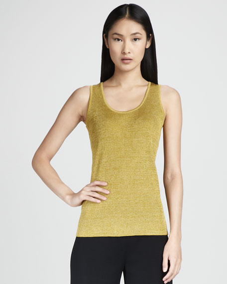 Ribbed Metallic Tank
