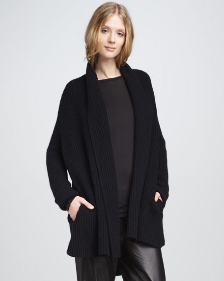 Chunky Cardigan, Midnight