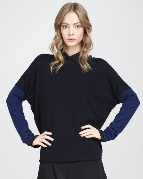 Colorblock Sweater, Coastal
