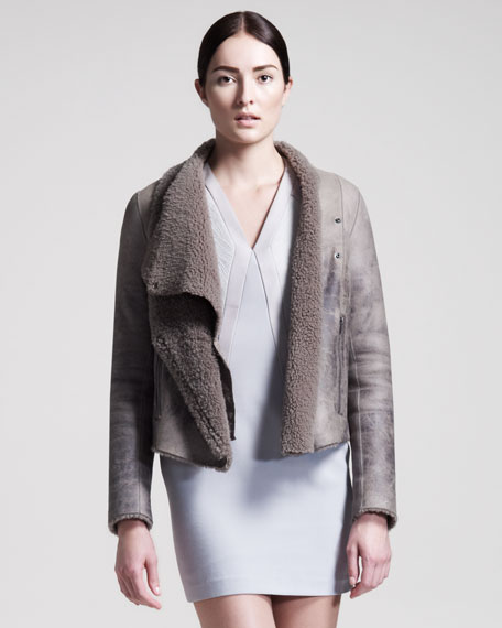 Weathered Shearling Jacket