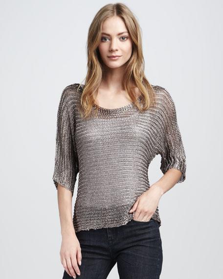 Metallic Sweater, Copper