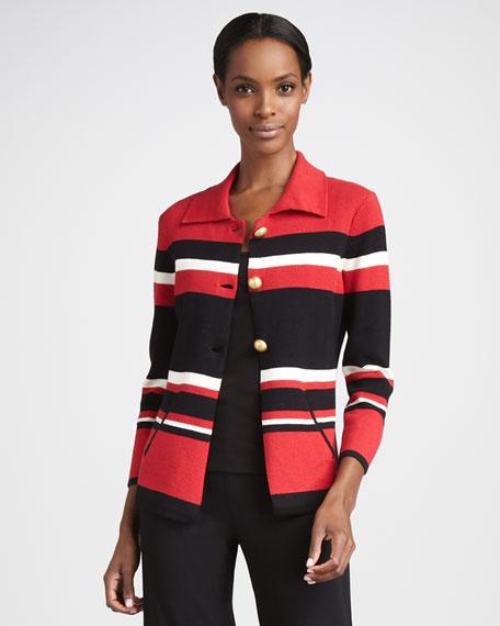 Striped Jacket, Women's