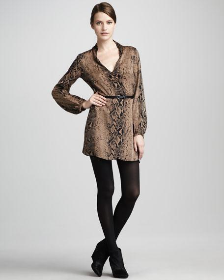 Loubna Belted Dress