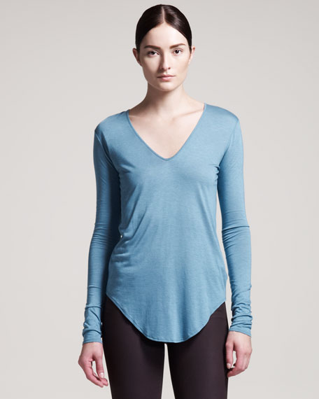 Kinetic Long-Sleeve Jersey Top