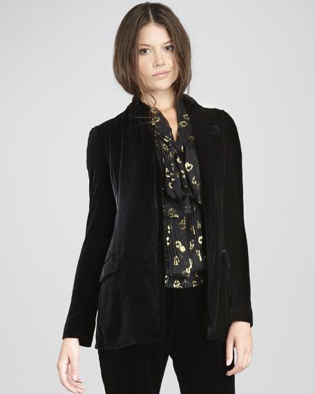 Yvan Velvet Jacket