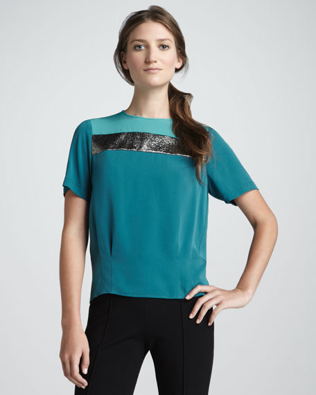 Darla Colorblock Top