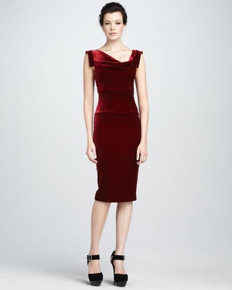 Jackie Velvet Dress