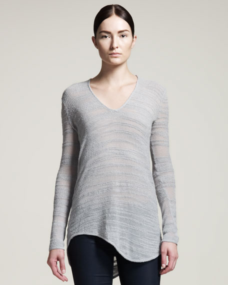 Destroyed Boucle Pullover