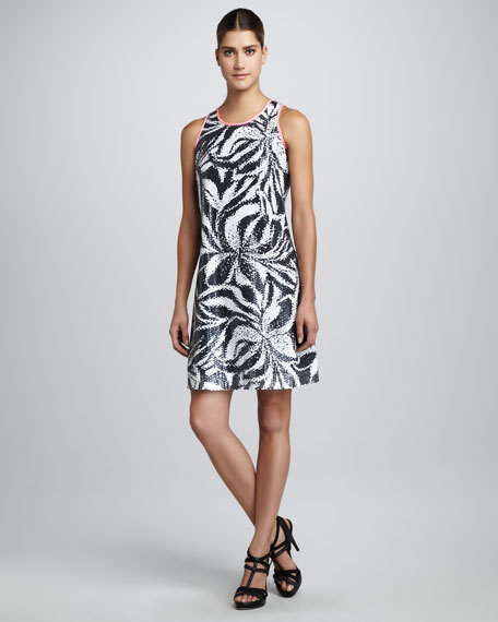 Courtin Sequined Tank Dress