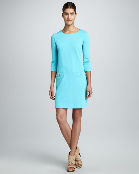 Charlene Pique Ponte Dress