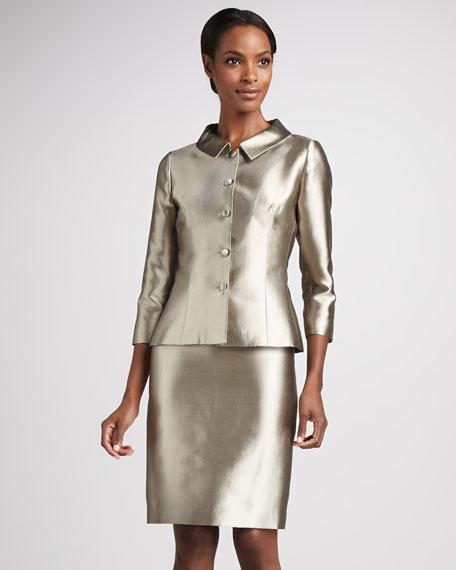 Wool-Silk Skirt