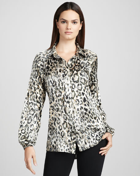 Meredith Sequined Blouse
