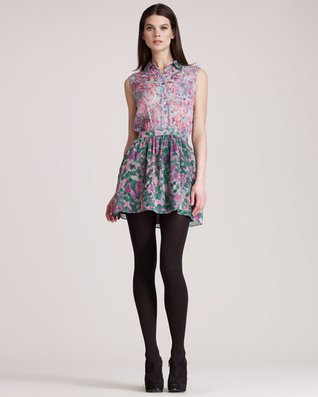 Mimi Stretch-Silk Dress