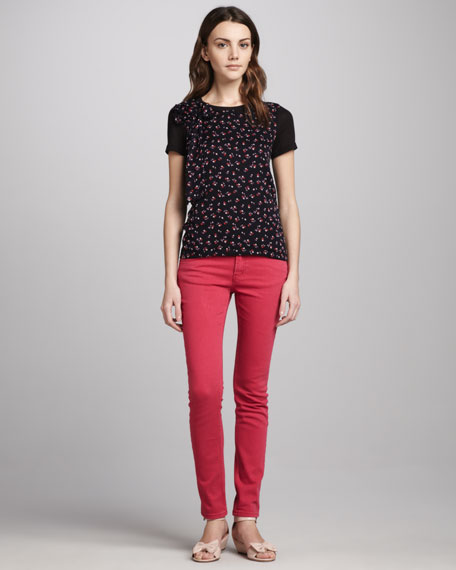 Slim Jeans, Cherry