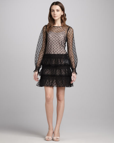 Swiss Dot Tulle Dress
