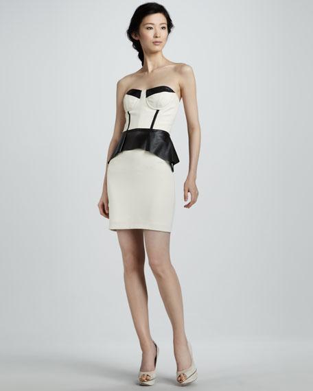 Peplum Cocktail Dress