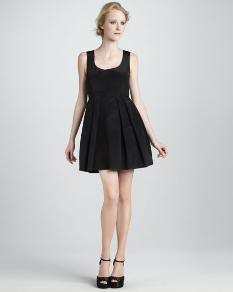 Liana Fit-and-Flare Dress
