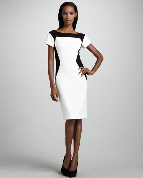 Contour Colorblock Dress
